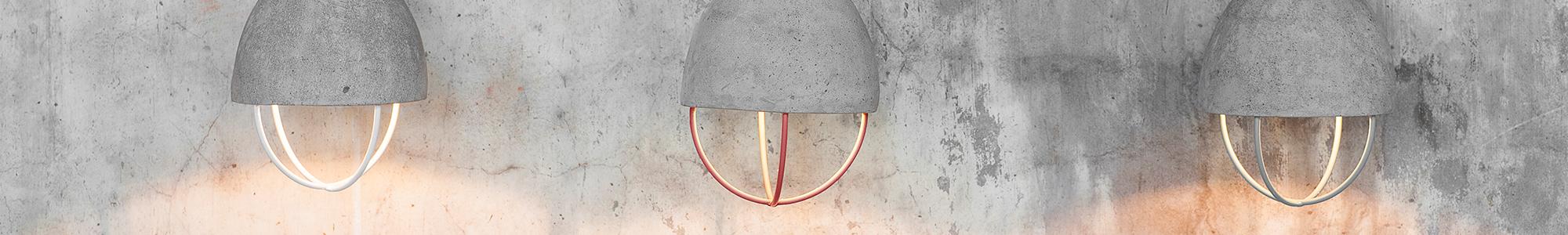 hanglamp beton