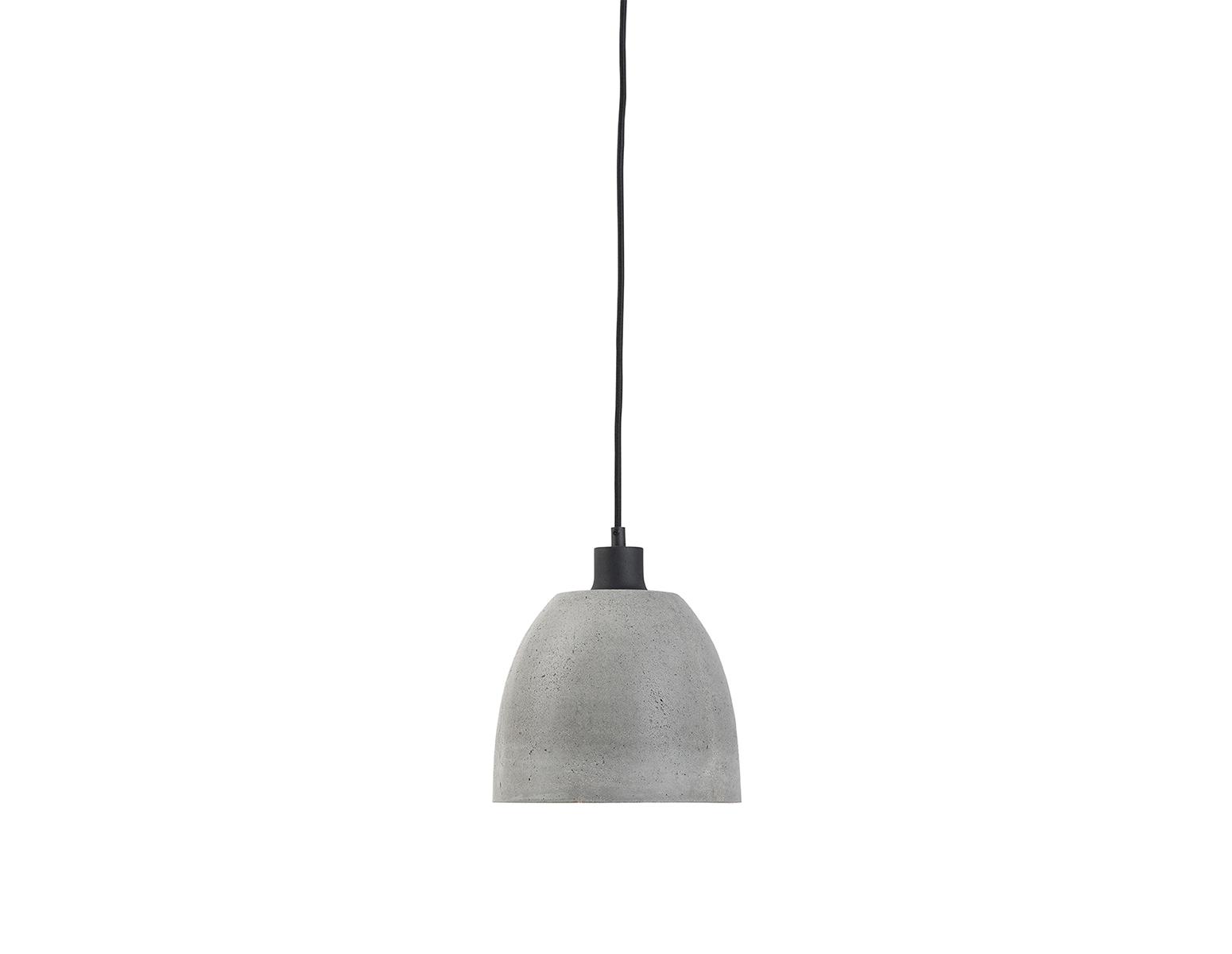 Hanglamp beton klein