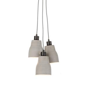 Hanglamp beton lines h1