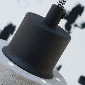 Hanglamp beton lines h1 detail