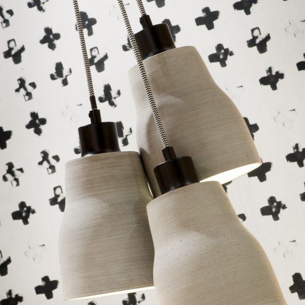 Hanglamp beton lines h1 sfeer