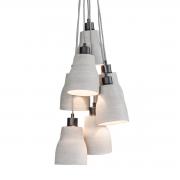 Hanglamp beton lines h7