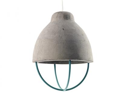 Hanglamp beton rekje groen