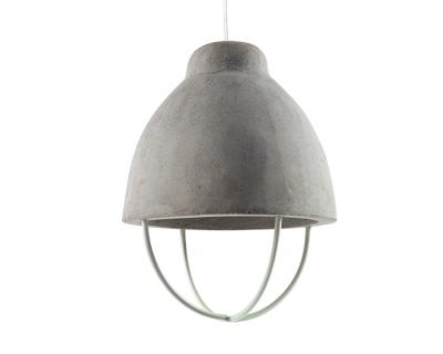 Hanglamp beton rekje wit
