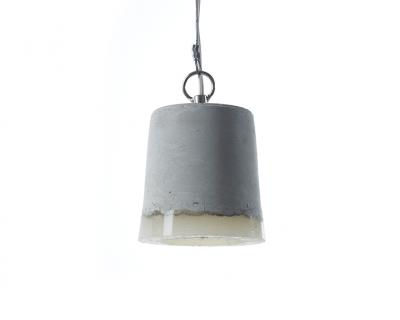 Hanglamp beton rond klein