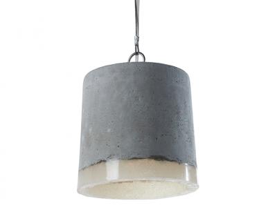 Hanglamp beton rond middel